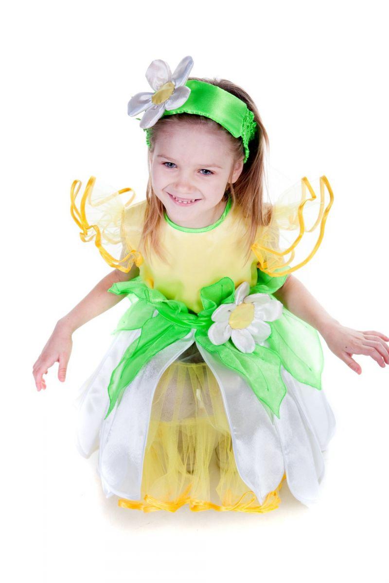 Масочка - «Ромашка» карнавальный костюм для девочки / фото №303