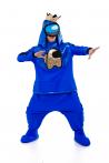 Синий AmongUs «Амонг Ас» карнавальный костюм для аниматоров - 3030