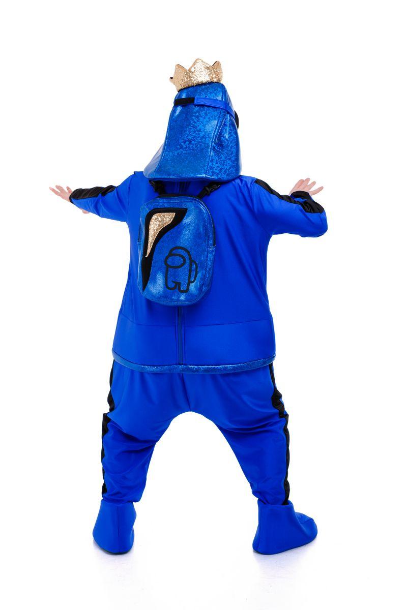 Масочка - Синий AmongUs «Амонг Ас» карнавальный костюм для аниматоров / фото №3031