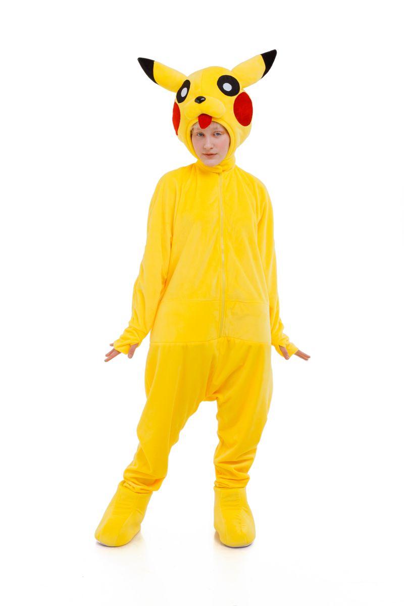 Масочка - Пикачу «Pokemon Pikachu» карнавальный костюм для аниматоров / фото №3042