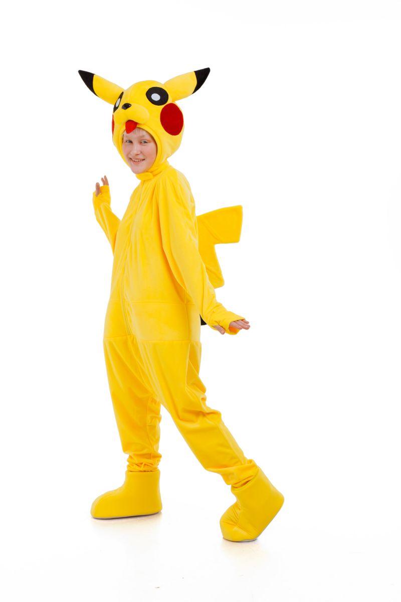 Масочка - Пикачу «Pokemon Pikachu» карнавальный костюм для аниматоров / фото №3043