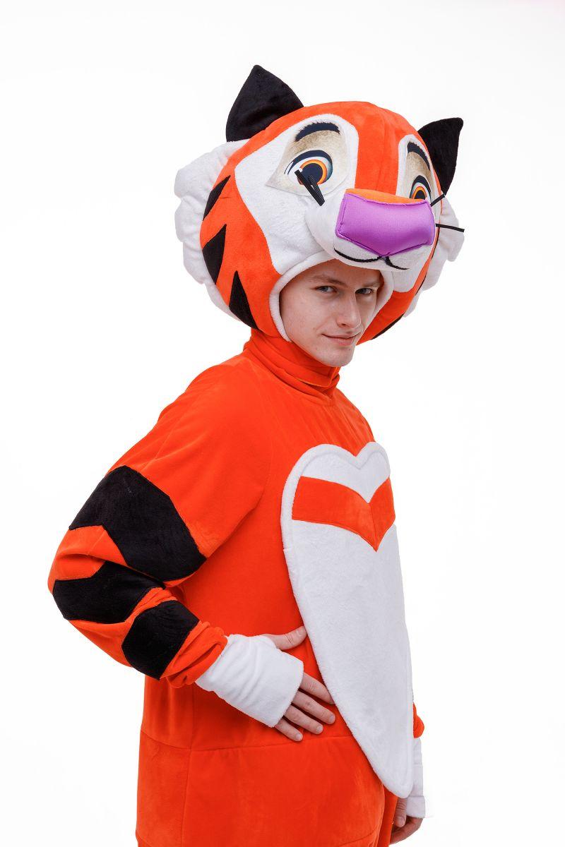 Масочка - «Тигренок Тиг» карнавальный костюм для аниматоров / фото №3050