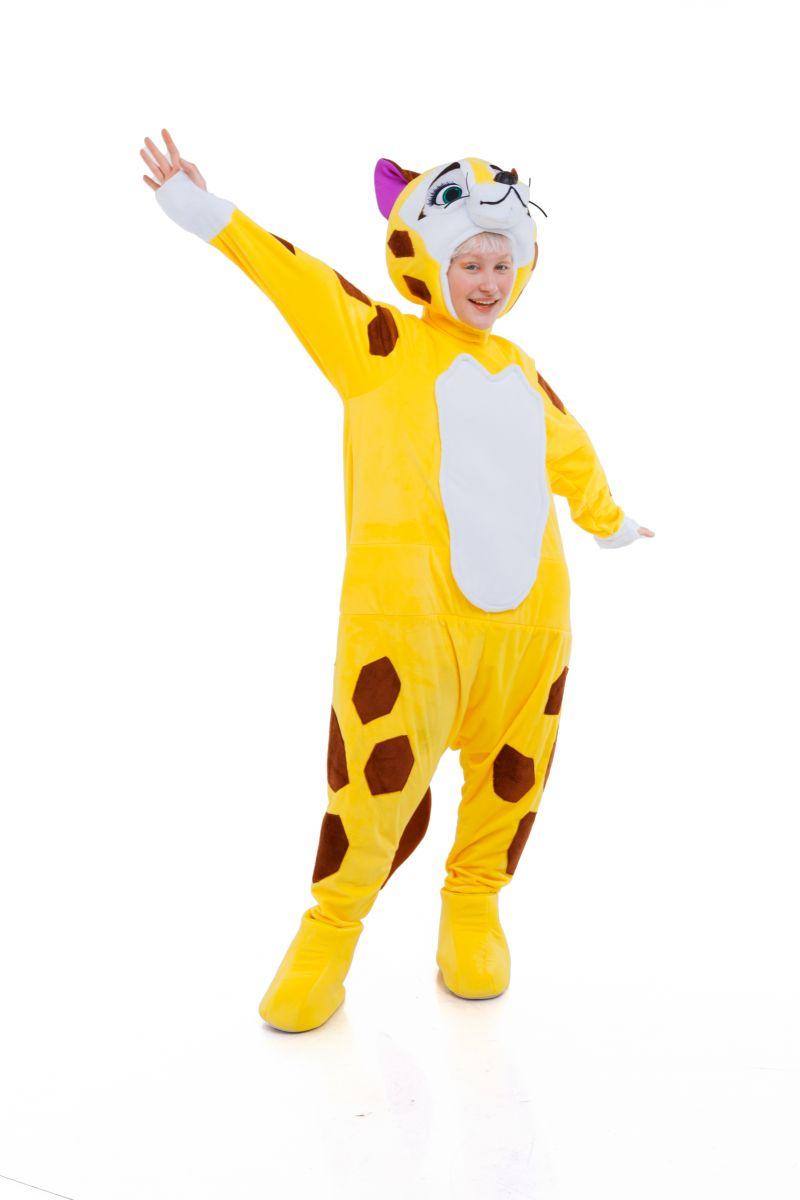 Масочка - «Леопард Лео» карнавальный реквизит для аниматоров / фото №3052