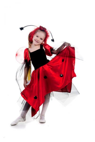 Божья коровка «Шик» карнавальный костюм для девочки