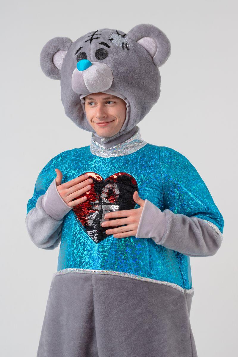 Масочка - Мишка Тедди мальчик «Teddy Bear» карнавальный костюм для аниматоров / фото №3064