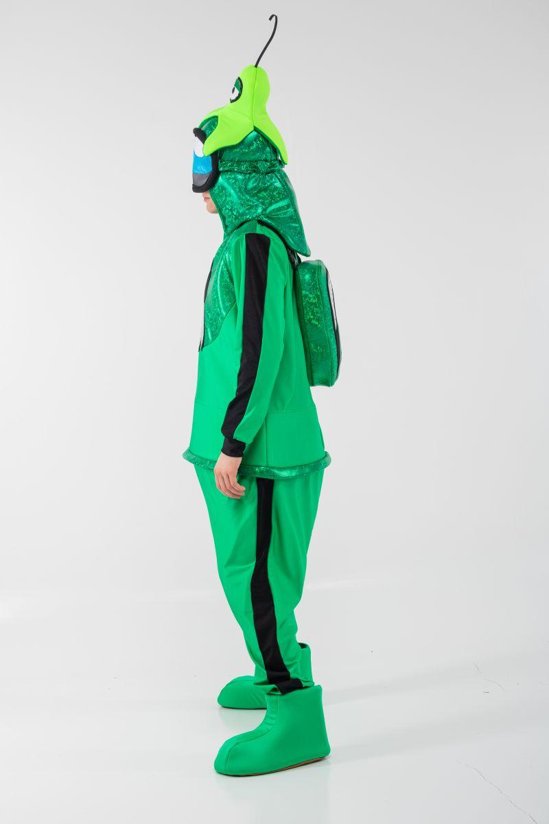 Масочка - Зеленый AmongUs «Амонг Ас» карнавальный костюм для аниматоров / фото №3083