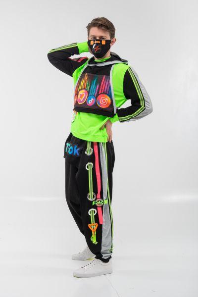 Блогер «TikTok» карнавальный костюм для аниматора