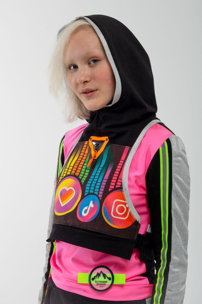 Масочка - Блогерка «TikTok» карнавальный костюм для аниматора / фото №3096