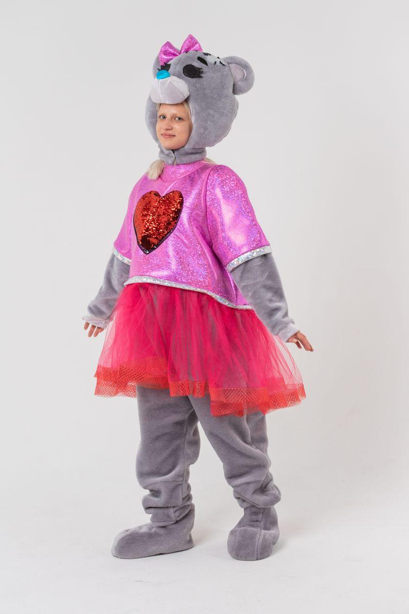 Масочка - Мишка Тедди девочка «Teddy Bear» карнавальный костюм для аниматора / фото №3099