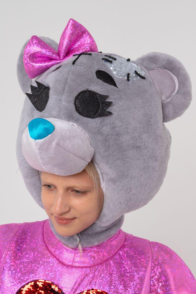 Масочка - Мишка Тедди девочка «Teddy Bear» карнавальный костюм для аниматора / фото №3102