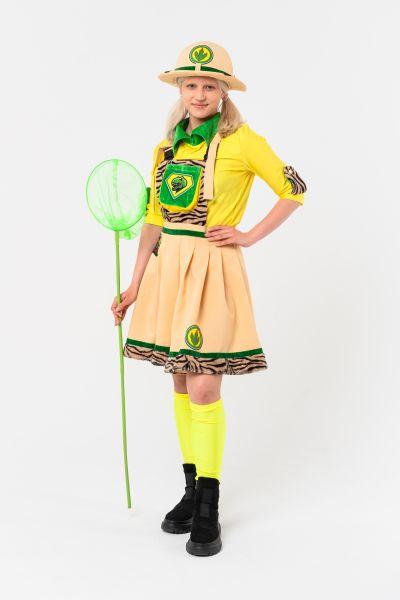 Палеонтолог девочка карнавальный костюм для аниматоров