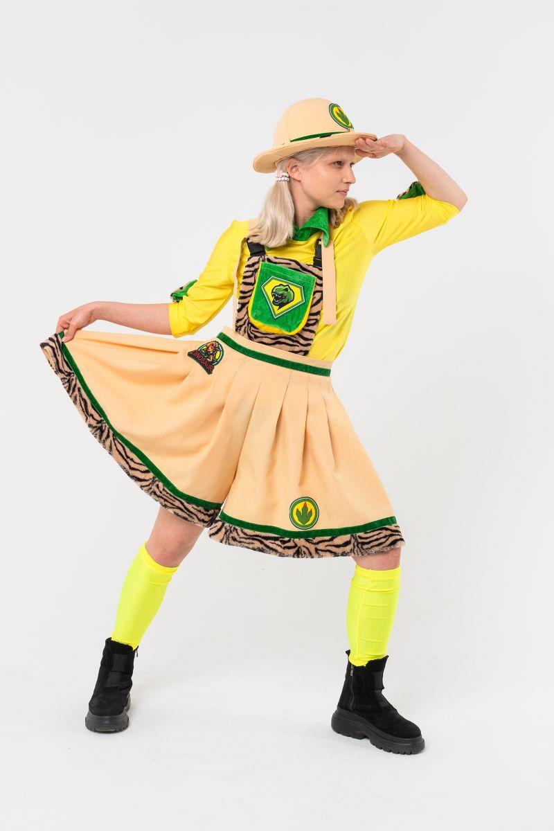 Масочка - Исследовательница « Сафари » карнавальный костюм для аниматоров / фото №3114