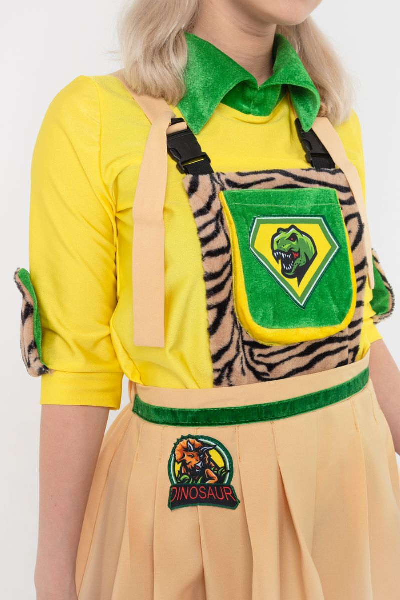 Масочка - Исследовательница « Сафари » карнавальный костюм для аниматоров / фото №3116