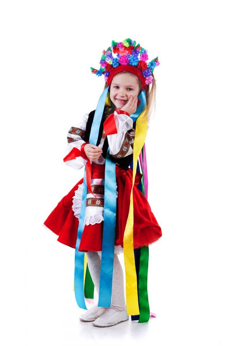 «Украинка» национальный костюм для девочки