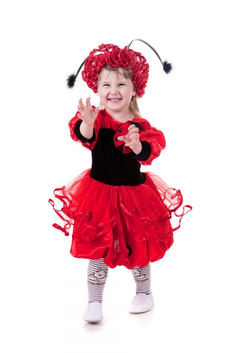 Божья коровка «Малышка» карнавальный костюм для девочки
