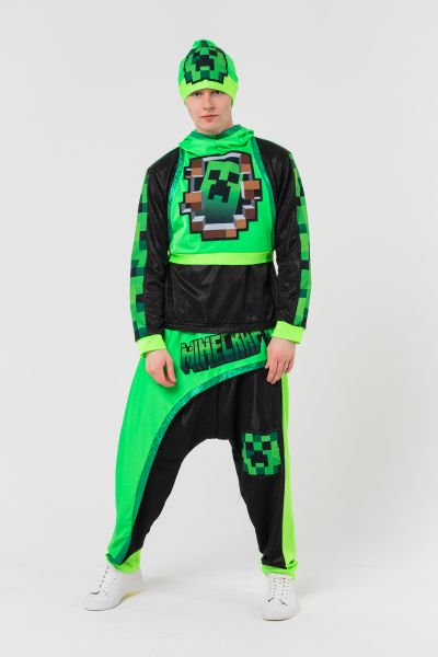 Крипер «Minecraft» карнавальный костюм для аниматоров