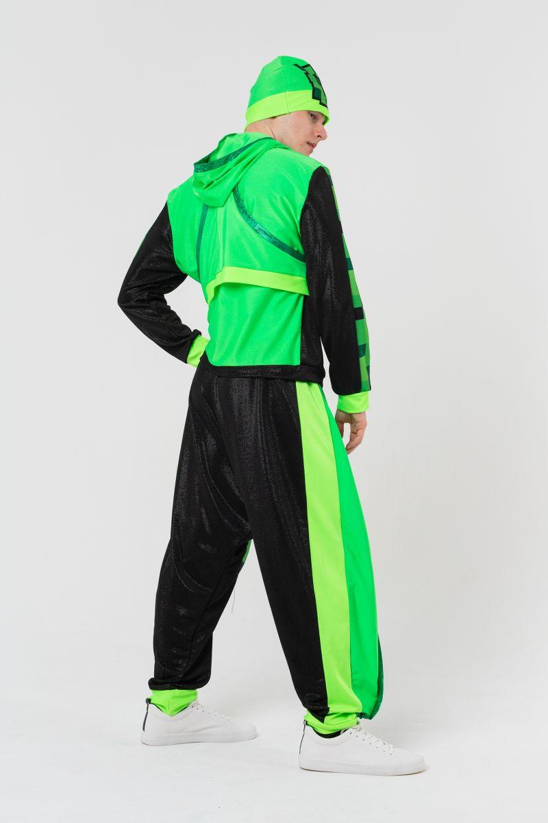 Масочка - Крипер «Minecraft» карнавальный костюм для аниматоров / фото №3135