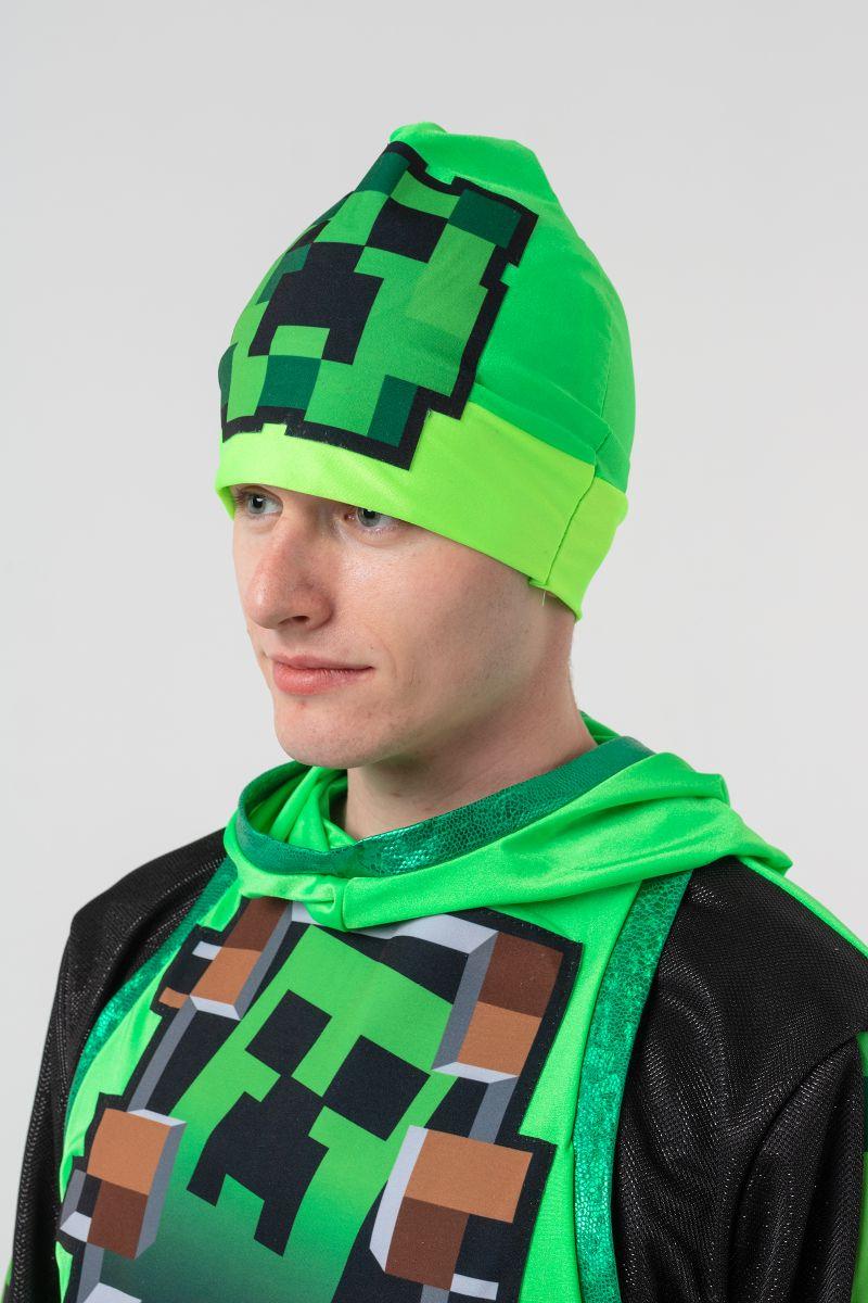 Масочка - Крипер «Minecraft» карнавальный костюм для аниматоров / фото №3137