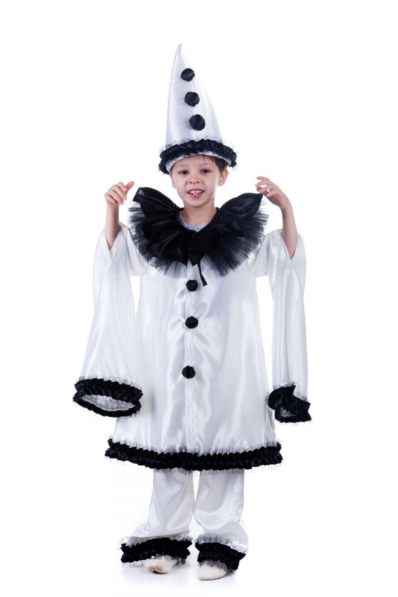 «Пьеро» карнавальный костюм для мальчика