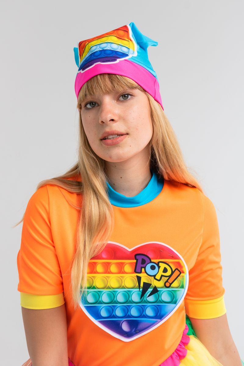 Масочка - Поп Ит Девчонка «Pop it girl» карнавальный костюм для аниматоров / фото №3169
