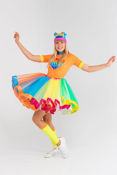 Поп Ит Девчонка «Pop it girl» карнавальный костюм для аниматоров