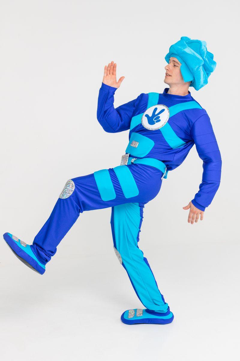 Масочка - «Фиксик Нолик» бифлекс карнавальный костюм для взрослых / фото №3179