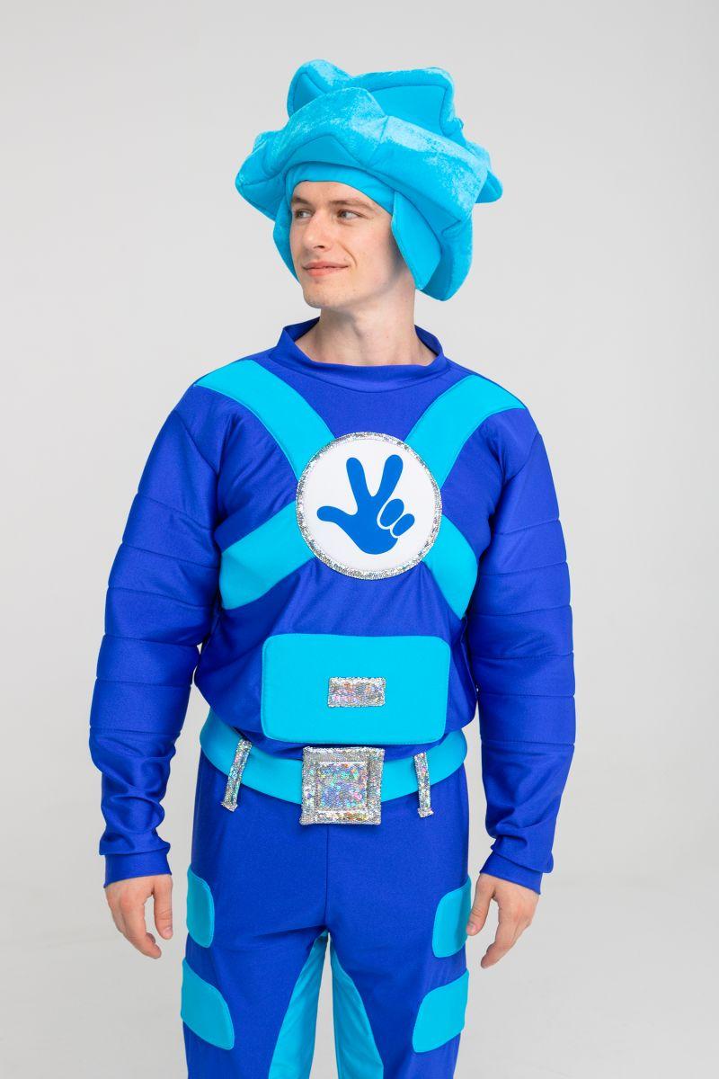 Масочка - «Фиксик Нолик» бифлекс карнавальный костюм для взрослых / фото №3180