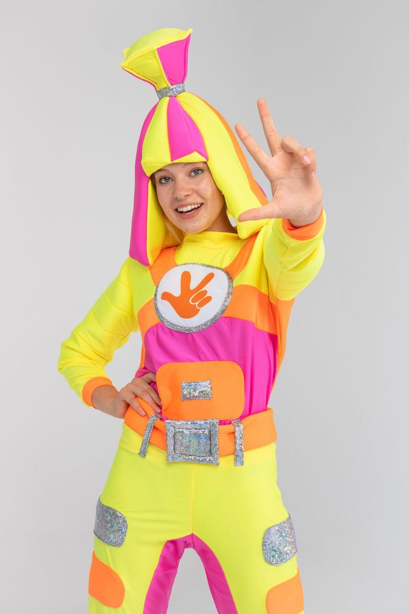 Масочка - «Фиксик Симка» бифлекс карнавальный костюм для взрослых / фото №3187