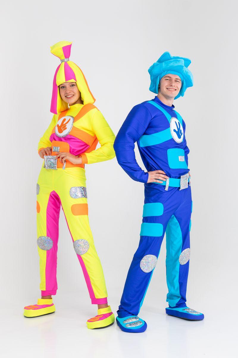 Масочка - «Фиксик Симка» бифлекс карнавальный костюм для взрослых / фото №3192