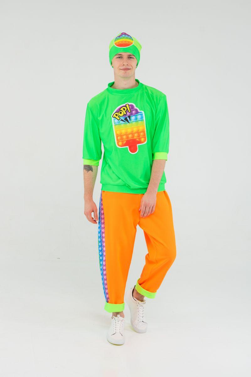 Масочка - Поп Ит парень «Pop it boy» карнавальный костюм для аниматоров / фото №3193
