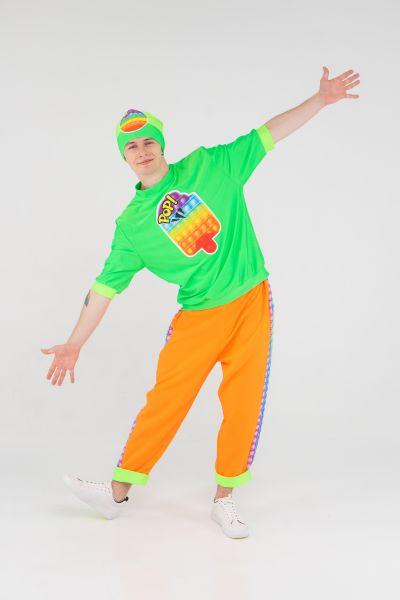 Поп Ит парень «Pop it boy» карнавальный костюм для аниматоров