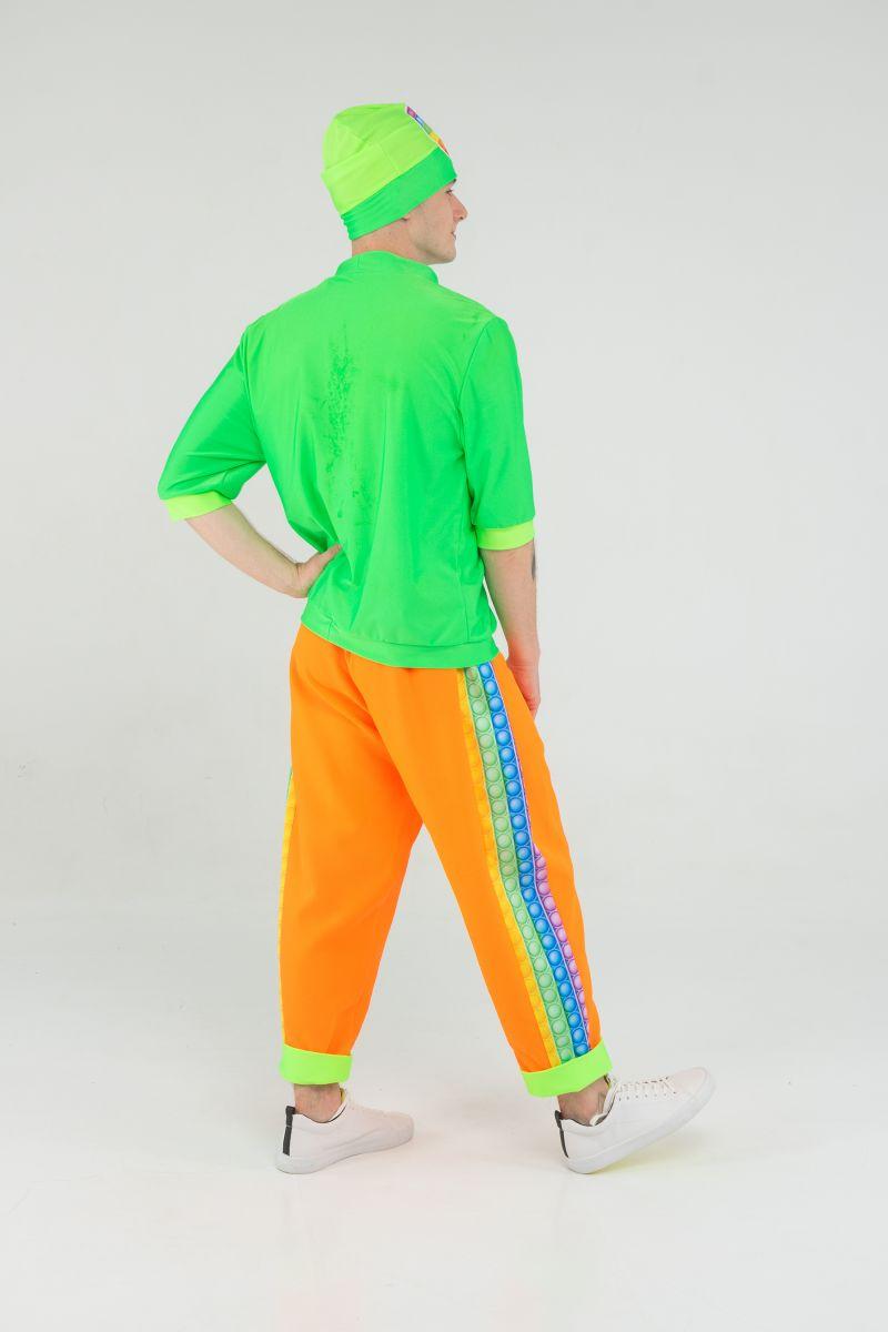 Масочка - Поп Ит парень «Pop it boy» карнавальный костюм для аниматоров / фото №3195