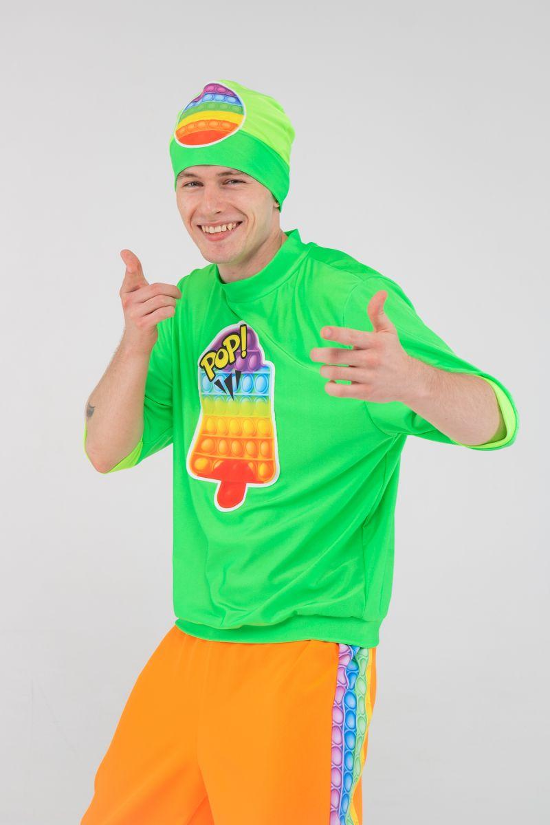 Масочка - Поп Ит парень «Pop it boy» карнавальный костюм для аниматоров / фото №3196