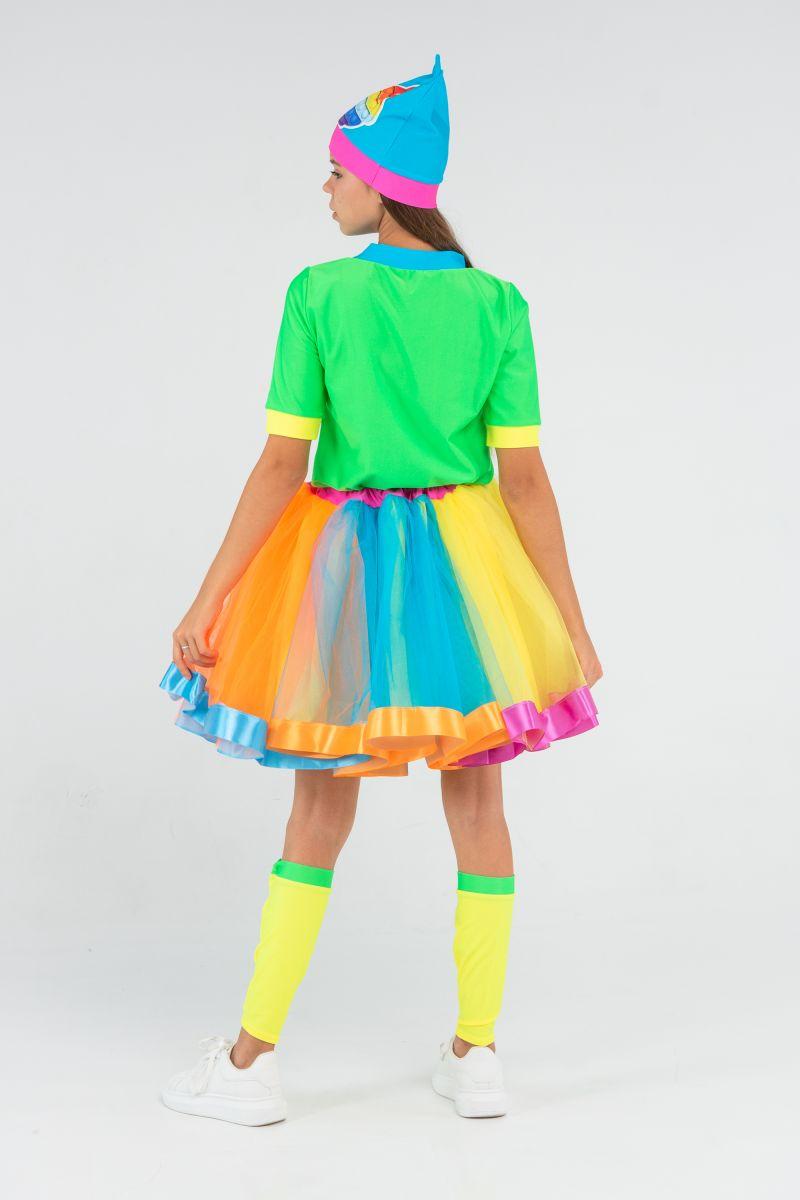 Масочка - Поп Ит Девчонка «Pop it girl» карнавальный костюм для аниматоров / фото №3216