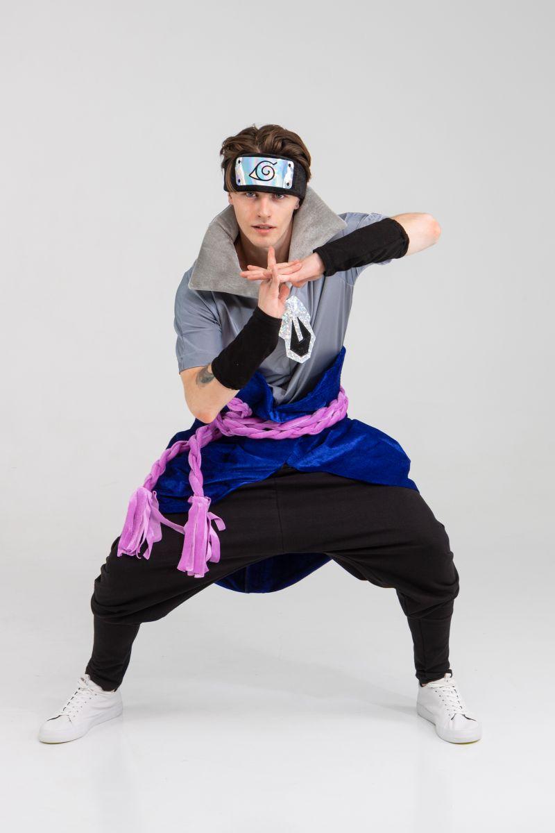 Масочка - Саске «Naruto» карнавальный костюм для аниматора / фото №3236