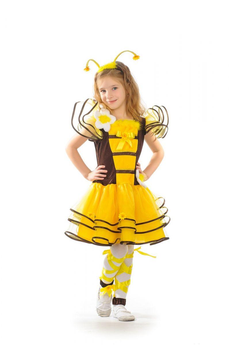 Пчелка «Кокетка» карнавальный костюм для девочки