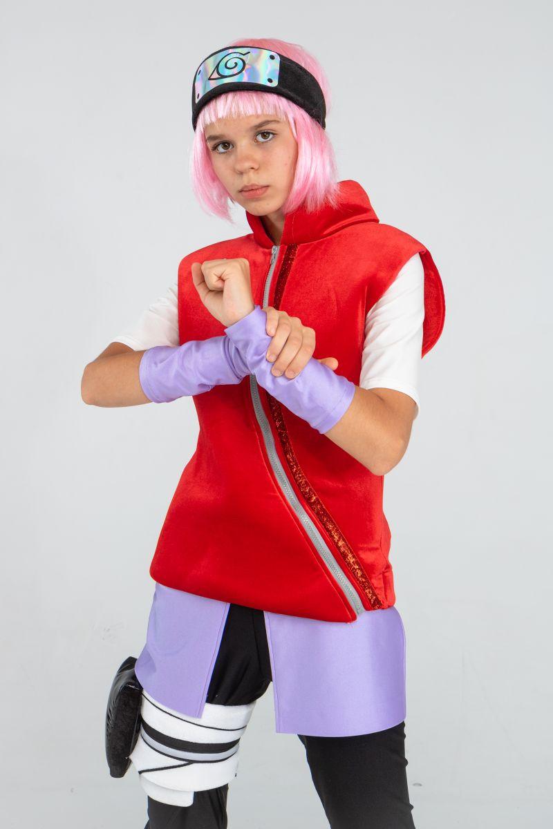 Масочка - Саске «Naruto» карнавальный костюм для аниматора / фото №3250