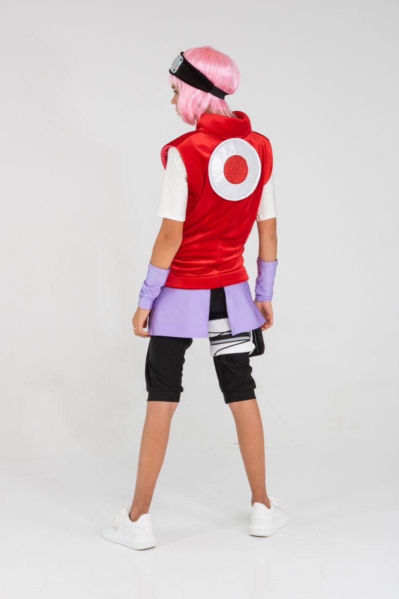 Масочка - Саске «Naruto» карнавальный костюм для аниматора / фото №3251