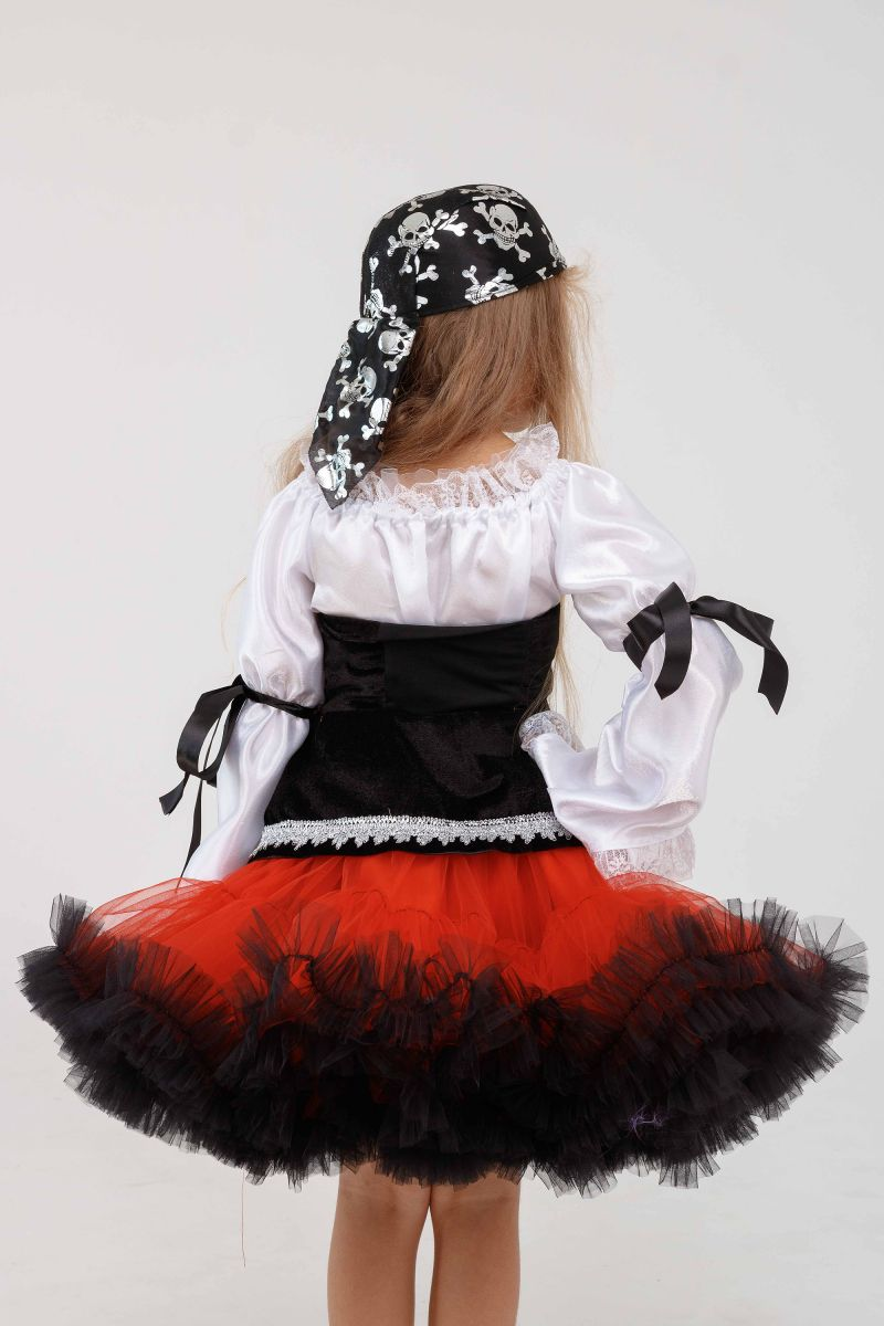 Масочка - «Пиратка красотка» карнавальный костюм для девочки / фото №3255