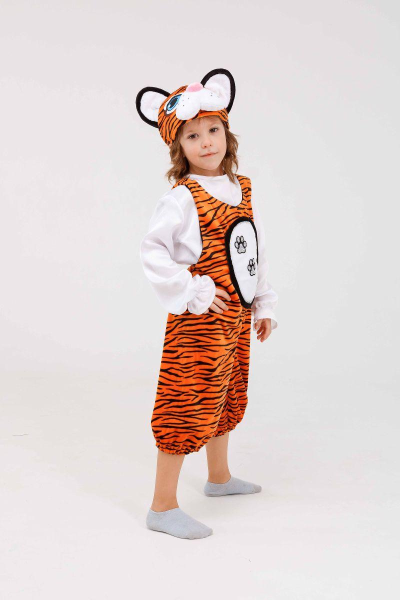 Масочка - «Тигруля» карнавальный костюм для детей / фото №3265