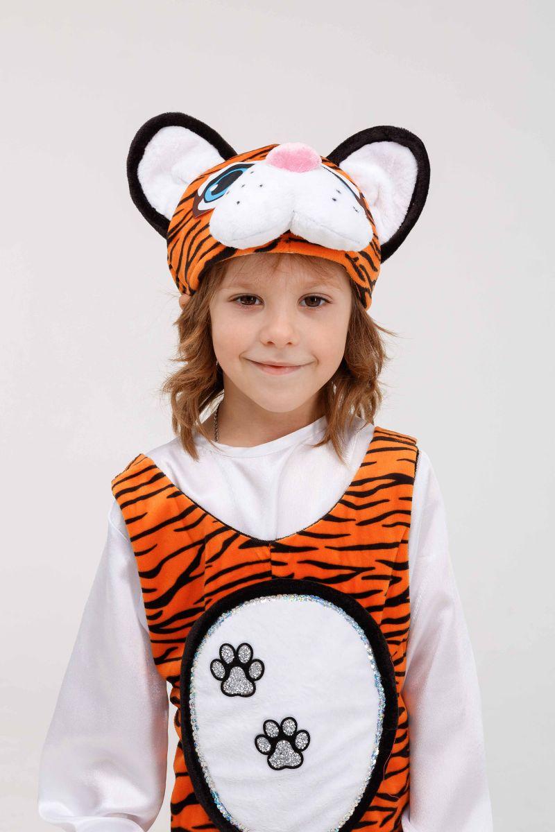 Масочка - «Тигруля» карнавальный костюм для детей / фото №3267