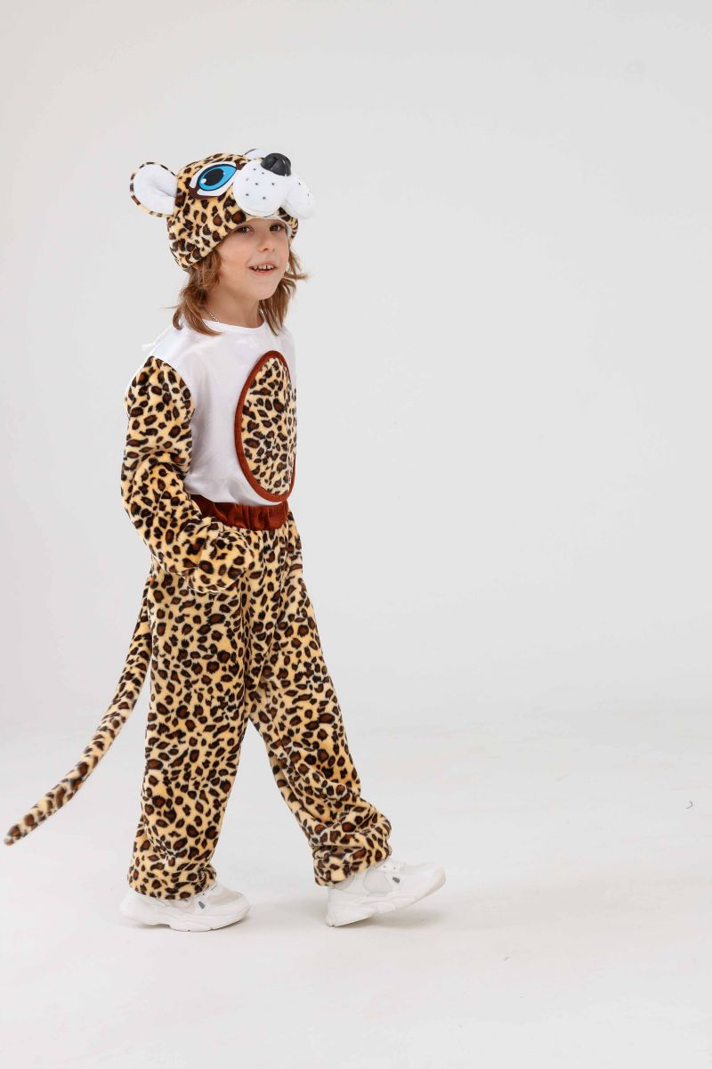 Масочка - «Леопардик» карнавальный костюм для детей / фото №3269