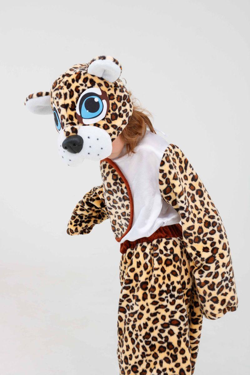 Масочка - «Леопардик» карнавальный костюм для детей / фото №3271