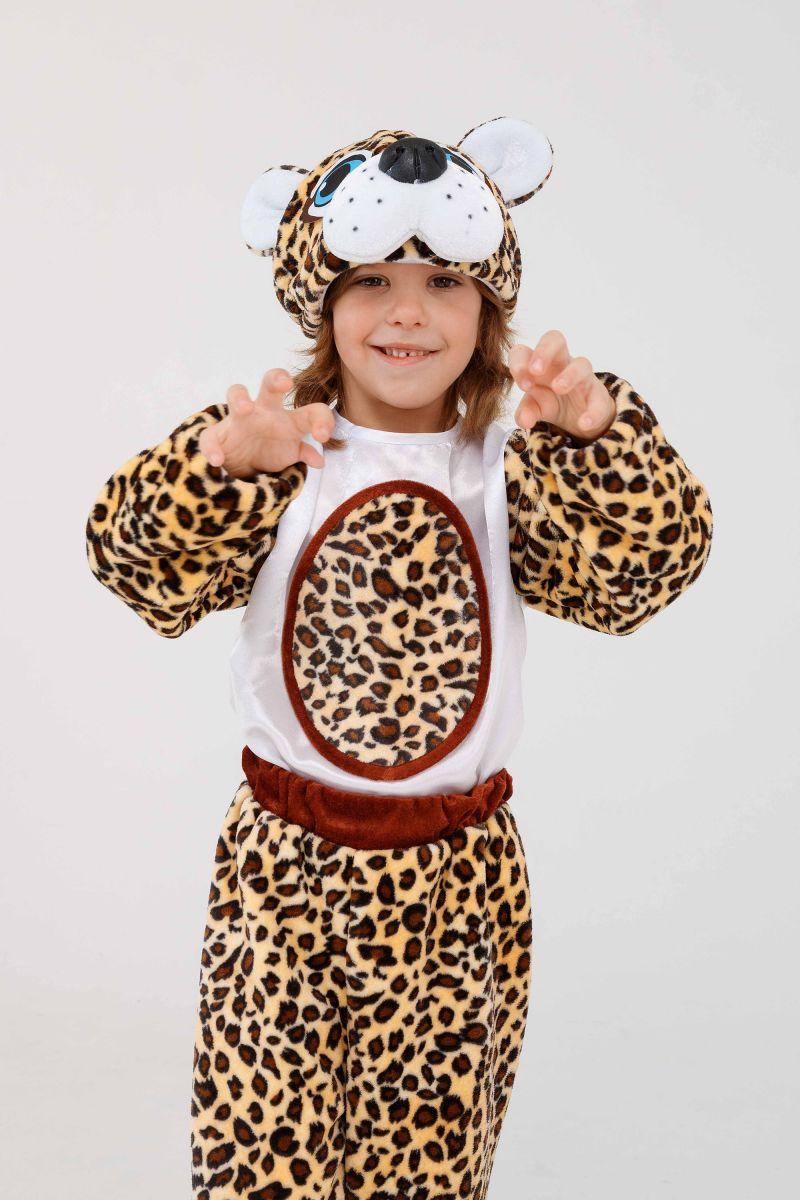 Масочка - «Леопардик» карнавальный костюм для детей / фото №3272