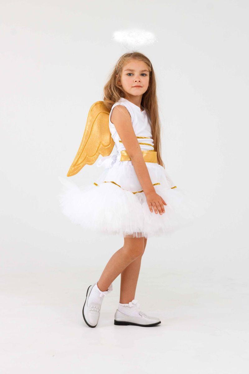 Масочка - «Ангелочек» карнавальный костюм для девочки / фото №3285