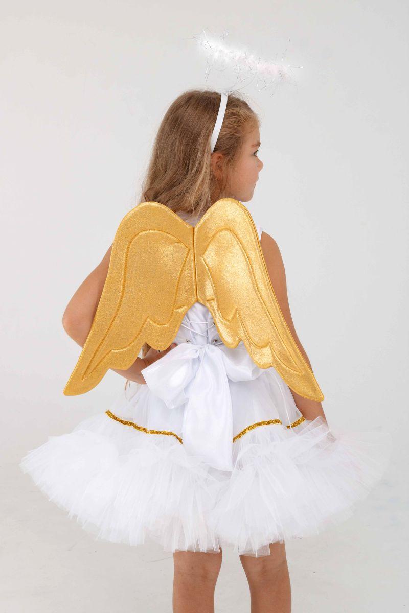 Масочка - «Ангелочек» карнавальный костюм для девочки / фото №3286