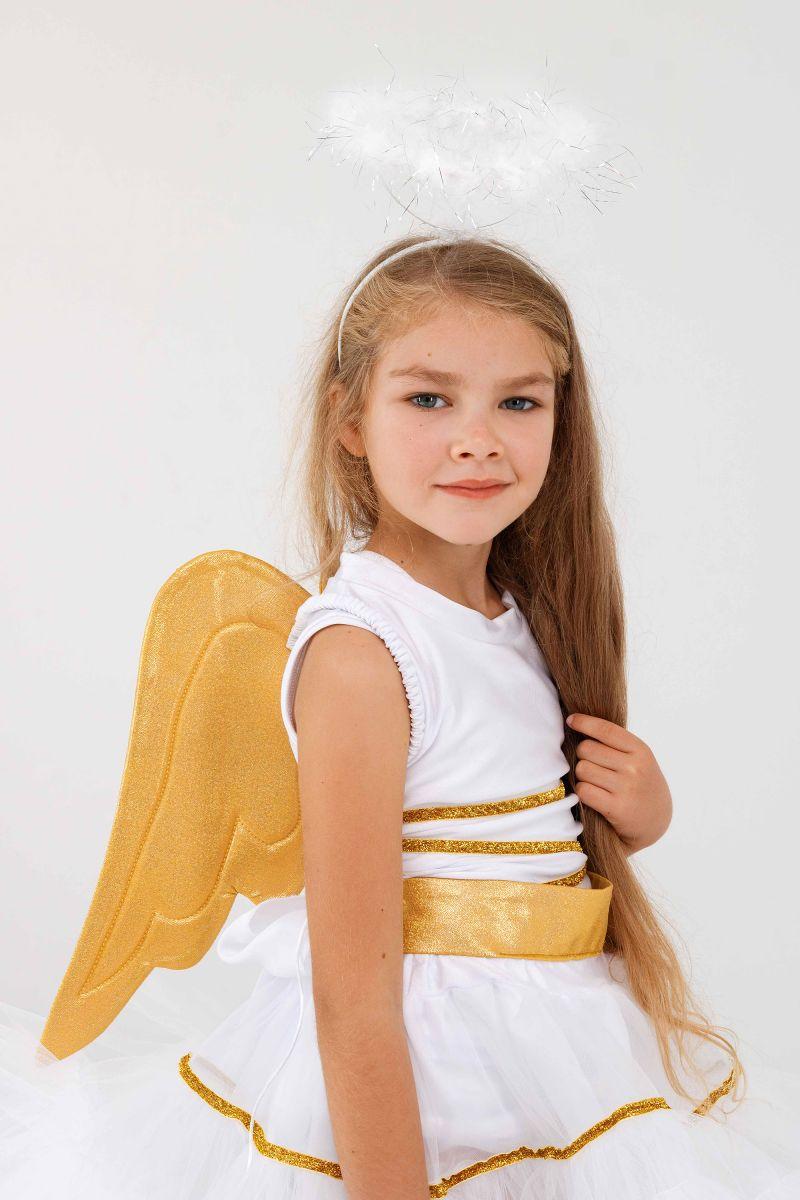 Масочка - «Ангелочек» карнавальный костюм для девочки / фото №3287