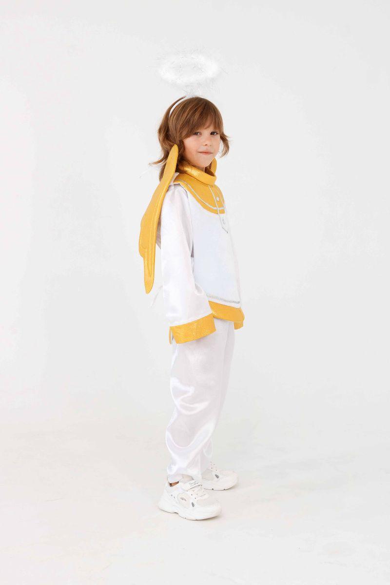 Масочка - «Ангел» карнавальный костюм для мальчика / фото №3291