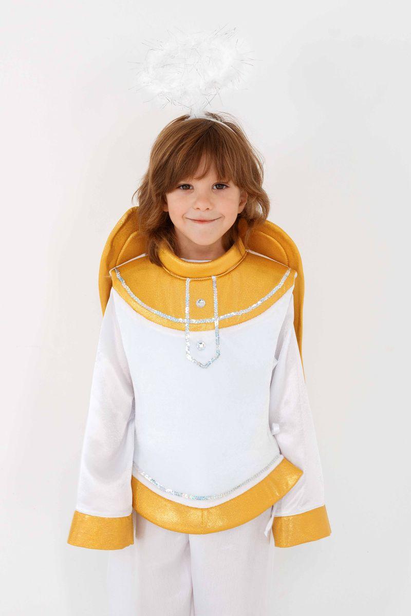 Масочка - «Ангел» карнавальный костюм для мальчика / фото №3293