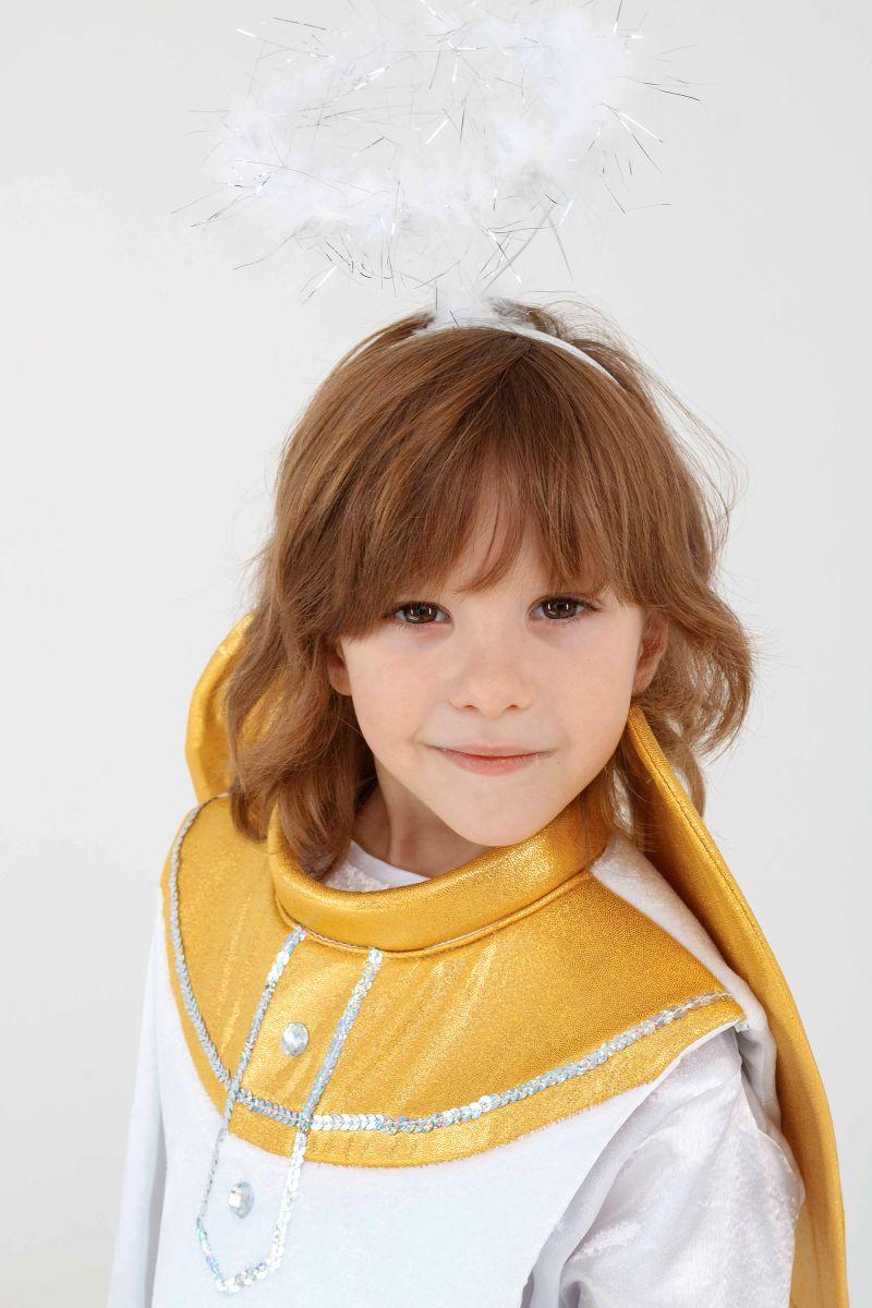 Масочка - «Ангел» карнавальный костюм для мальчика / фото №3294